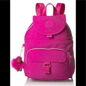 NEW KIPLING VERY BERY Queenie Solid Backpack